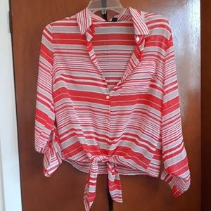 Forever 21 button down shirt size m